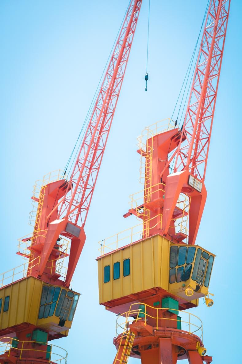 hijskranen voor containers